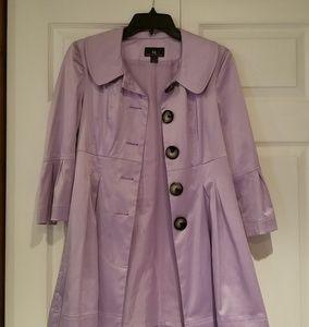 IZ Byer California Jackets & Coats - Beautiful Lavender jacket by IZ Byer Ca sz S